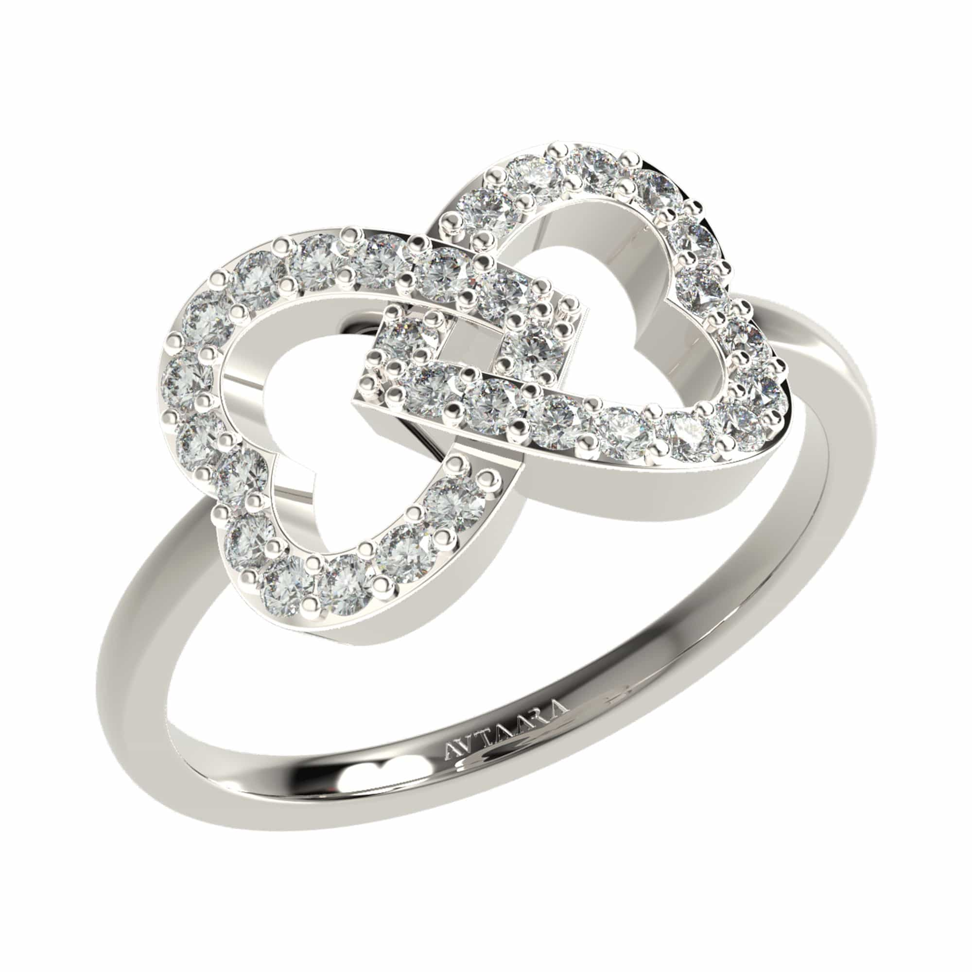 Entwined Love Ring