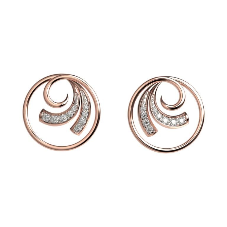 Circulo Diamond Earrings