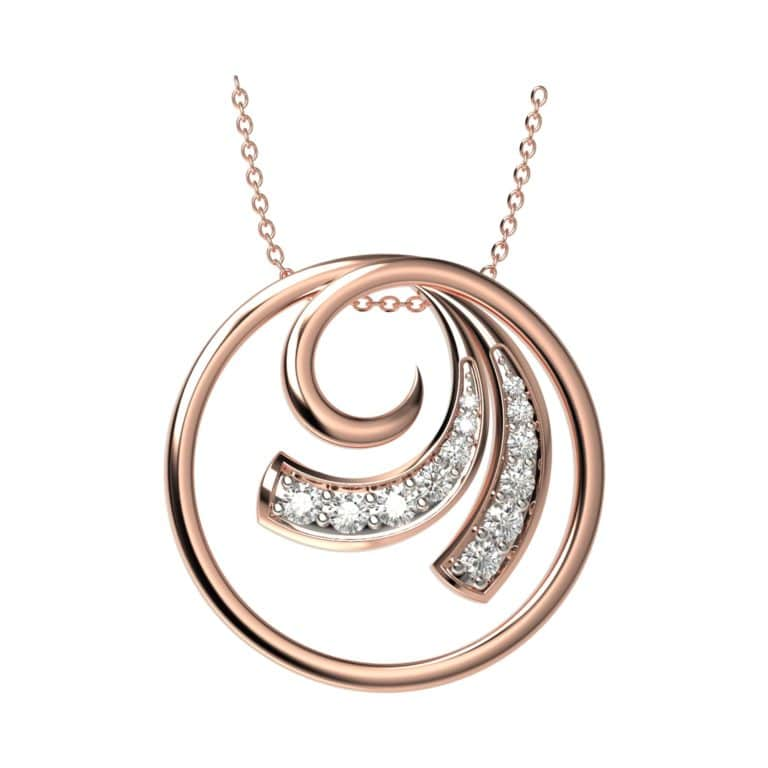 Circulo Diamond Pendant