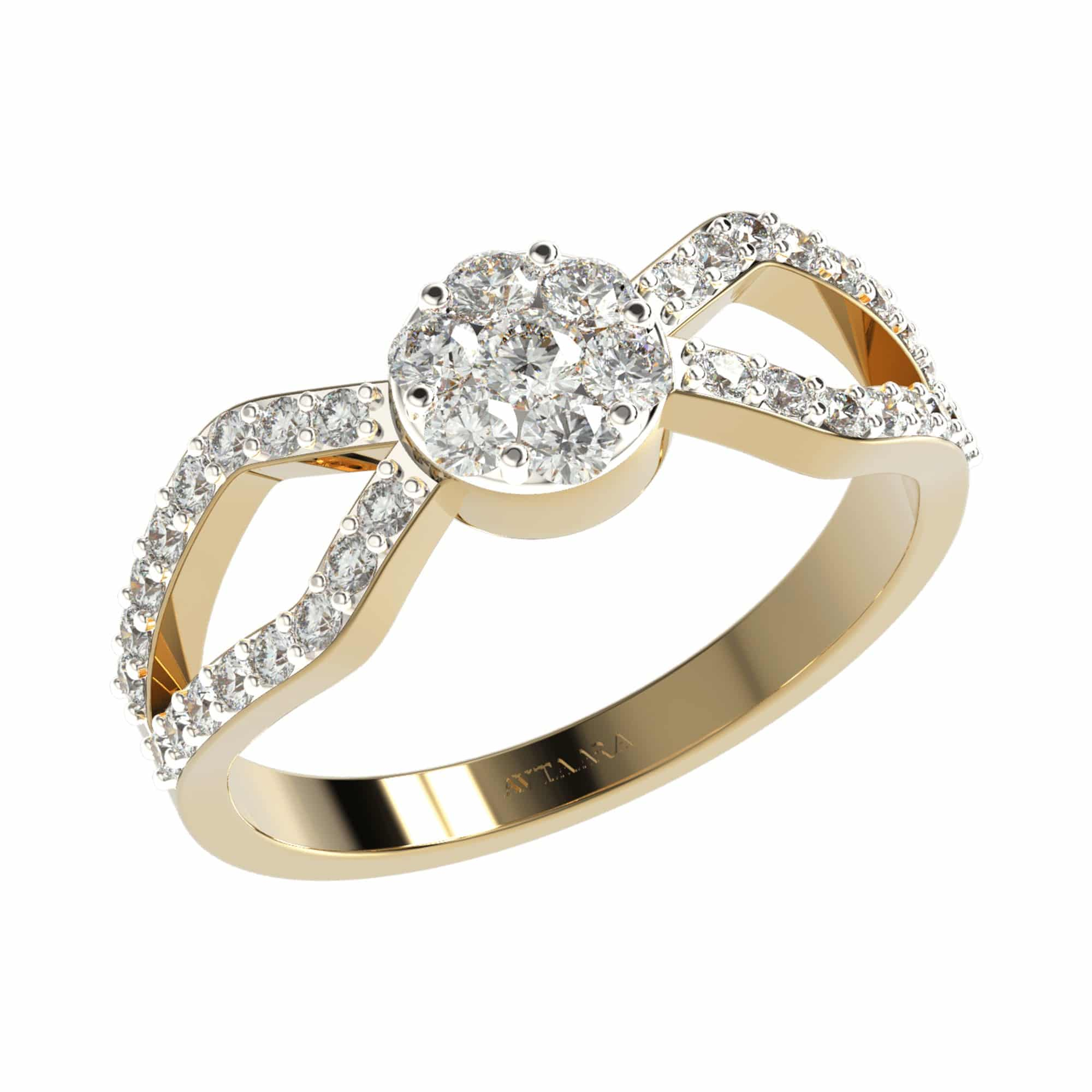 Rounded cage ring